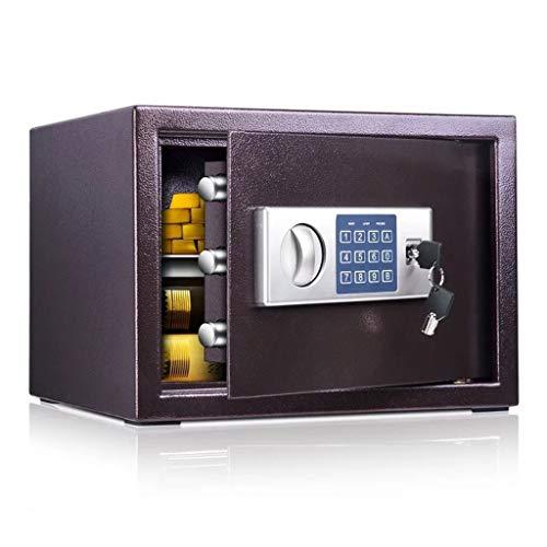 Boxes & Organizers Sicherheits-Geldtresor, Stahlstruktur, klein, elektronisch, digital, 35 x 30 x 25 cm, 10-30