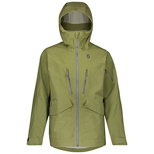 Scott M Vertic DRX 3L Jacket Grün, Herren Dermizax™ Jacke, Größe S - Farbe Green Moss