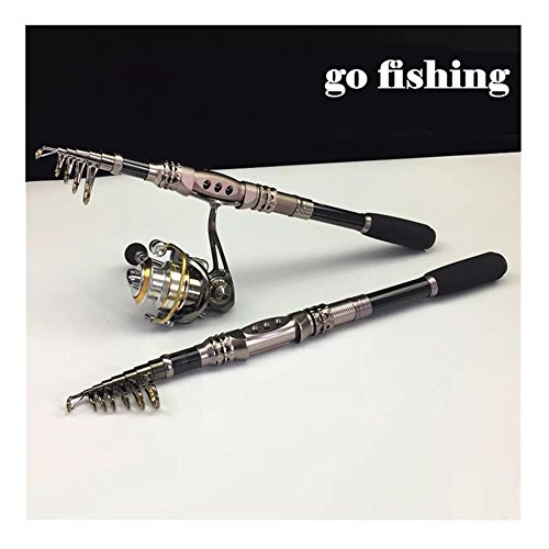 Caña de pesca aparejos de pesca giratorio pesca Rod, 1,8 m -3.3 M señuelo de fibra de carbono caña de pescar caña de pescar, cañas de baitcasting pesca señuelo de varillas, Fishing,1.8M/5.91FT