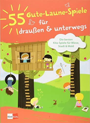 55 Gute-Laune-Spiele für draußen & unterwegs: Die besten Kita-Spiele für Wiese, Stadt und Wald