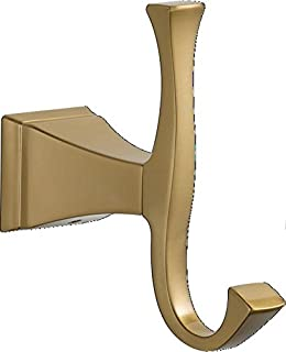 Delta Faucet 75135-CZ Dryden Robe Hook, 4.68 x 1.75 x 4.68 inches, Champagne Bronze