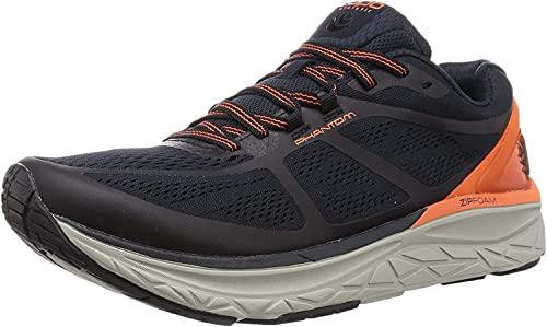 Topo Athletic Men s Phantom Road Running Shoe  Navy/Orange  11
