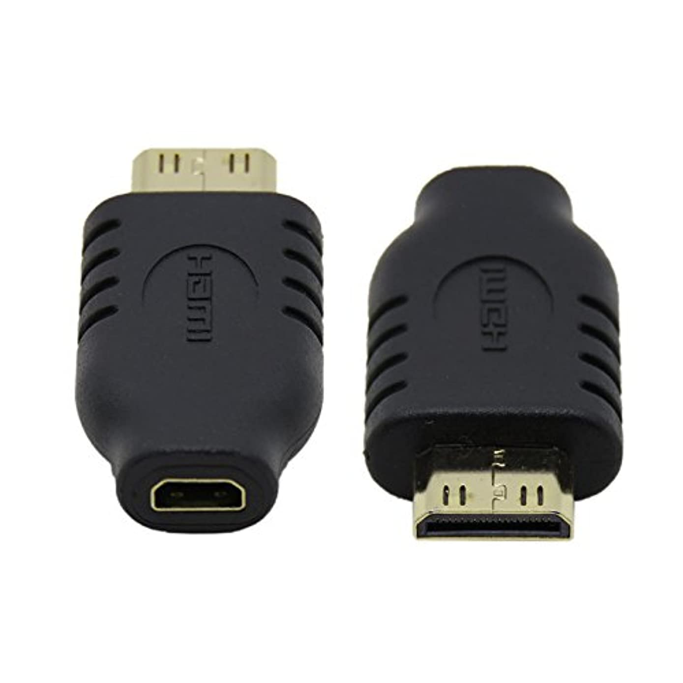 JSER Type D Micro HDMI Socket Female to Type-C Mini HDMI 1.4 Male Convertor Adapter