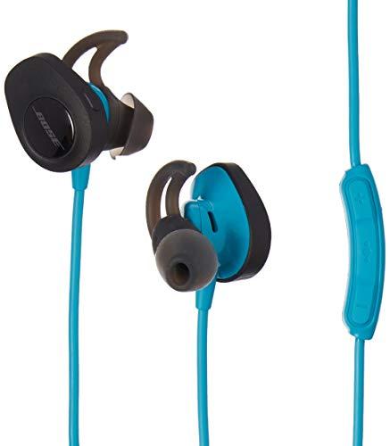 Bose SoundSport Wireless Headphones, Aqua (Renewed)