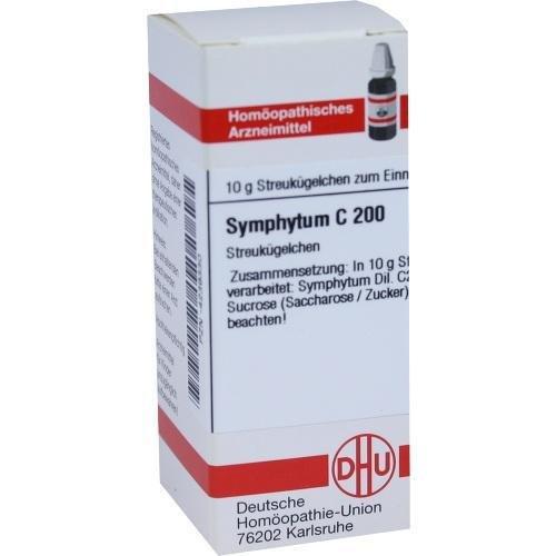 SYMPHYTUM C200 10g Globuli PZN:4239330