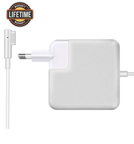BONONE - Alimentatore MagSafe 1 da 85 W, Magnetico Caricabatterie per MacBook e MacBook Pro 13'15'17' pollici con connettore a'L' - Metà 2012, 2013, 2014, Metà 2015