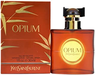 Yves Saint Laurent Opium Eau de Toilette Spray for Women, 1 Ounce