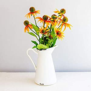 "Linenlanding 30"" Artificial Flowers Coneflowers Echinacea Flower Spray, Bouquet Wedding Party Home Indoor Décor, Pack of 2"