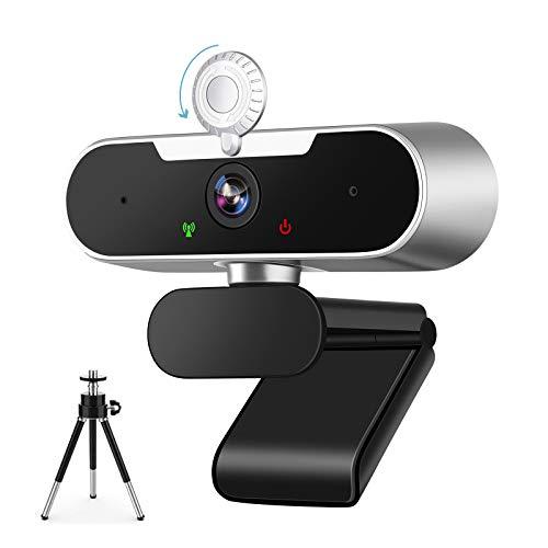 Webcam per PC, Full HD 1080p Webcam con Microfono, Webcam...