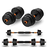 IRay A pair of 20/30/40KG adjustable Dumbbell set, free weights Dumbbells set meets the Exercise needs of you and your Family