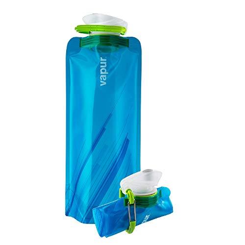 Vapur Element Flexible Water Bottle - with Carabiner, .70 Liter (23 oz) - Water