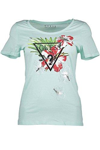 Guess W72I50JA900, Camiseta para Mujer, Verde (Mint Julep/Vert), 46 (Talla fabricante: XL)
