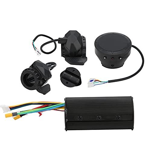 Omabeta exquisita mano de obra alta durabilidad pulgar acelerador freno LED faro conjunto 5/5.5/6/6.5 'E‑Scooter controlador pantalla digital para entretenimiento en el hogar (36V)