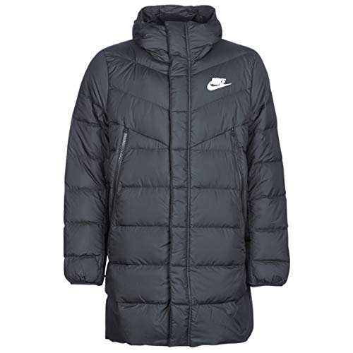 Nike Herren Down Fill Warmth Parka HD Jacke, Black/Black/Black/(White), XL