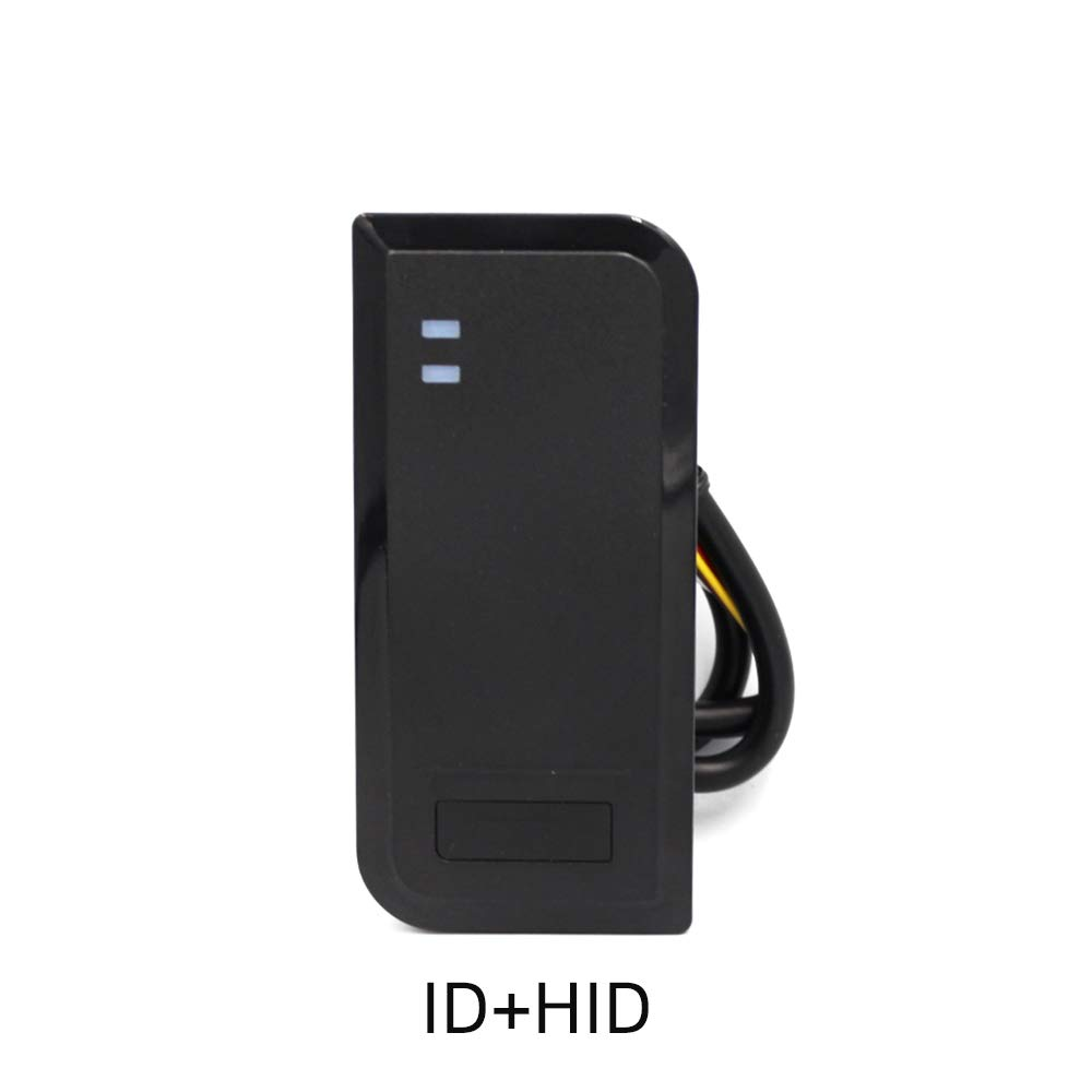 BSTUOKEY RFID Reader Proximity Card Reader Wiegand 26//34 Bit Output Door Access Reader Waterproof IP68 Access Control 125KHZ Card Reader with 10 Color Key