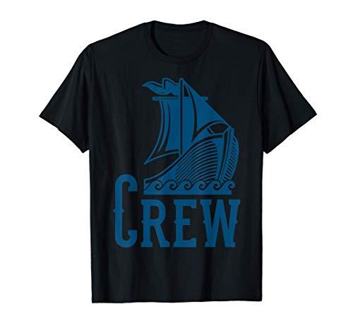 Camiseta VIKINGS CREW SAILING CREW Sailor Sailing Team Camiseta