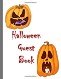 Halloween Guest Book: Costume Party Trick or Treat Spooky Memory Keeper