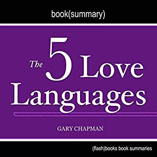 The 5 Love Languages by Gary Chapman - Book Summary audiobook cover art