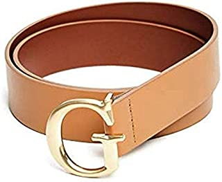 Guess Brown Leather Belt For Women