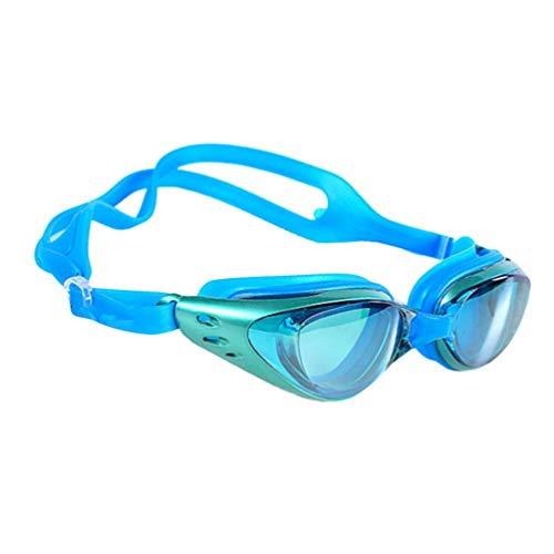 LIOOBO Schwimmbrille UV-Schutz Spiegelt Keine Undichten Triathlon-Ausrüstung für Erwachsene