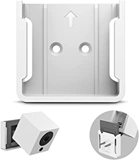 BECROWMUS Quick Wall Mount Bracket Compatible with Wyze Cam Wyze Cam V2, Indoor and Outdoor Wall Holder for 1080p iSmartAl...