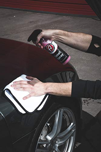 Adam's Single Soft Microfiber Towel - Soft Enough for Even The Most Delicate Finishes - Buff Away Polishes & Car Wax with Ease (4 Pack)