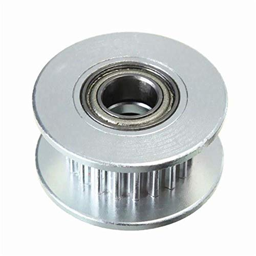 JIAHONG Accessories 3D Printer 20T 5mm GT2 Timing Belt Idler Pulley with Bearing 3D Printer