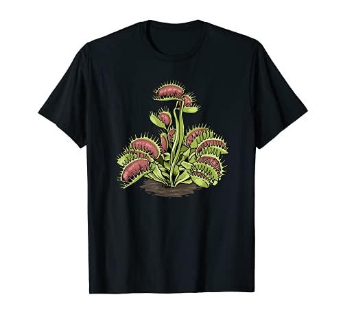 Venus Fly Trap Tshirt Carnivorous Plant Shirt Water Pitcher T-Shirt