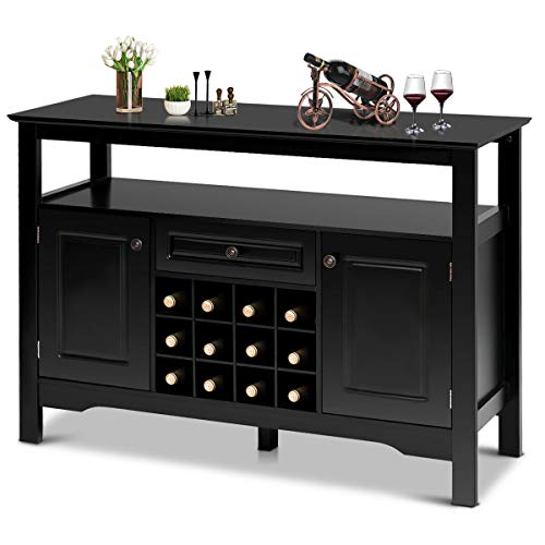 Giantex Buffet Server Wood Cabinet Sideboard Cupboard Table Kitchen Dining Room...