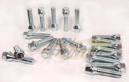 20 Vis - 14x150 - L2 50mm - Cle 17 - Portee Conique