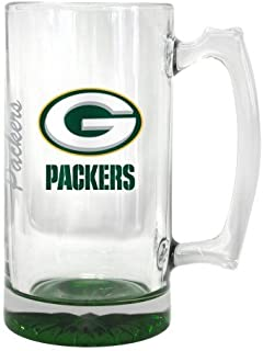 Boelter Brands 2015 NFL Team Logo Elite Tankard Mug - 25 Ounce Giant Beer Mug