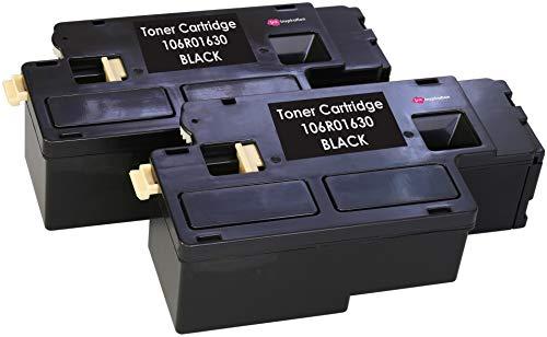 2 Toner Compatibili per Xerox Phaser 6000, 6010, 6010V, 6010V N, 6010N, WorkCentre 6015, 6015V, 6015V B, 6015V N, 6015V NI, 6015MFP | Nero: 2.000 Pagine