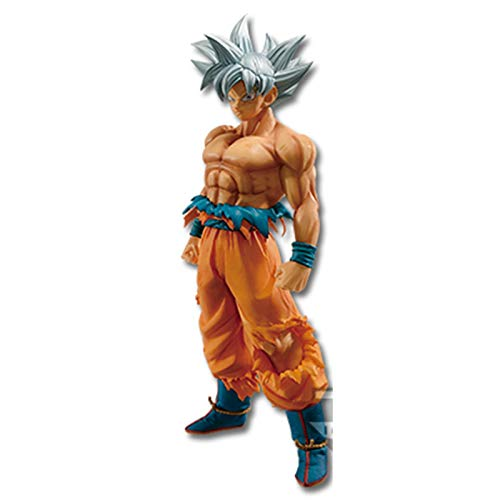 Qwead Dragon Ball Super Son Goku Ultra Instinct PVC Figurines d'action Jouet DBZ Dragon Ball Z Goku Anime Figurine Jouets 23 Cm