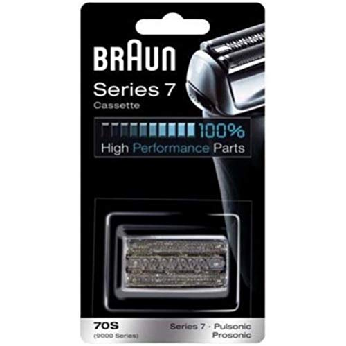 Braun 70S Foil Cutter Head Pack for Series 7 / 9000 Pulsonic Electric Shavers by
