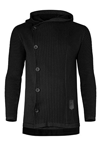 Musterbrand Star Wars Cardigan Herren Knight of Ren Hoodie schwarz XL
