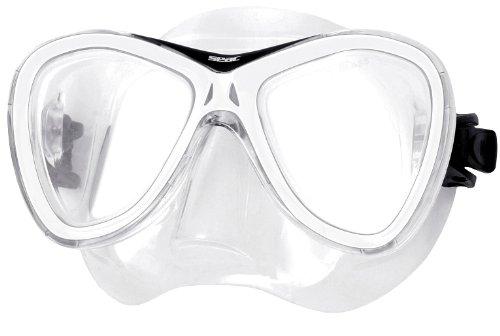 Seac Masque Capri Unisex Plongée, Snorkeling, Casse sous Marin, Natation Adulte en silicone