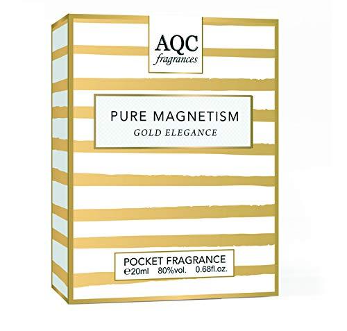 Gold Elegance - 2 profumi tascabili da 20 ml, collezione Pure Magnetism