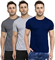 Scott International Men's Regular Fit T-Shirt (Pack of 3)
