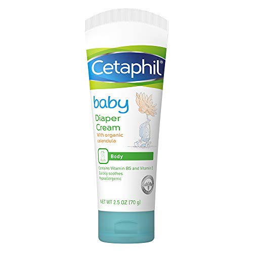 Cetaphil Baby Diaper Cream with Organic Calendula, Vitamin B5 and E ,...