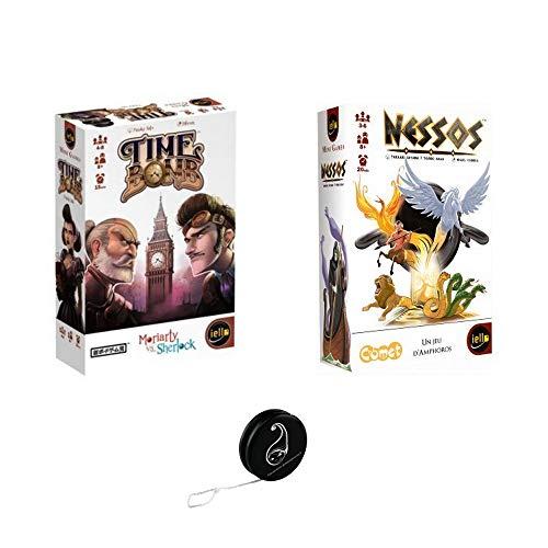 Juego de 2 juegos Iello: Time Bomb + Nessos + 1 Yoyo...
