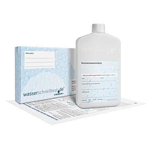 Brunnenwasseranalyse auf Keime & Chemie