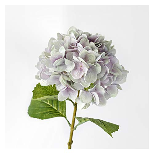 AO HAI 4 Seda de Ramo de Hortensia Artificial para el hogar Bridal Fiesta de Bodas Festival Decoración Día de Las Madres Regalos (Color : Purple, tamaño : 4 Pack)