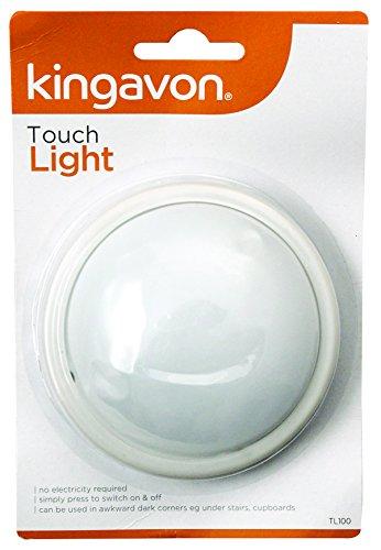 Kingavon Touch luz, plástico, Blanco,