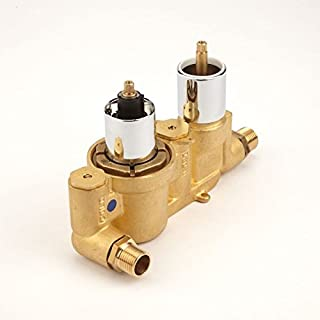 Hudson Reed Twin Diverter Durable Rough-in Valve Concealed Automatic Anti-Scald Device with 10 Years Guarantee