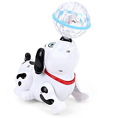 Parteet Dancing Dog with Music Flashing Lights - Multi Color