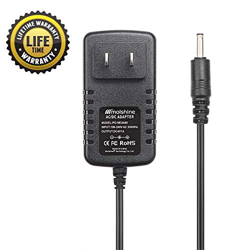 Molshine Compatible (6.6ft Cable)4V AC DC Adapter for Wahl Groomer Clipper Shaver Trimmer Charger 9854600 9854-600 9867300 9867-300 97581405 97581-405 79600-2101 97581-1105 9854l 9864 9876l 9818 9818L