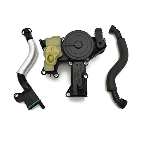 Ensun PCV Valve Oil Separator Crankcase Vent Valve for A4 A5 A6 Quattro Allroad Q3 Q5 Replaces 06H103495AE