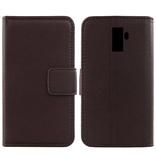 Gukas Design Echt Leder Tasche Für Leagoo M9 5.5