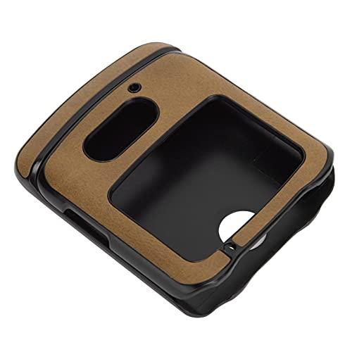 Handyhüllen Stoßfeste Handy Lederhülle PU Lederhülle Hülle Motorola Moto G5 Plus Handyhüllen(Brown)