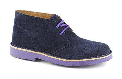 CAFèNOIR - Zapatos de Cordones para Hombre Marrón Nebbia/Bordo' 37